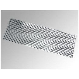 Aluminium-Grill, 120 x 33 cm mit Tribal Motiv