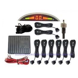 RÜCKFAHRSYSTEM mit 8 Sensoren, Einparkhilfe, RD-039