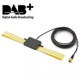 Universal DAB/DAB+ flexible Scheibenantenne mit SMA-Stecker