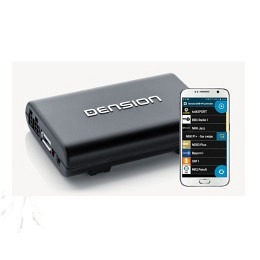 Dension DAB+M, DAB+ Nachrüstmodul, Bluetooth Freisprechen, Musikstreaming,AUX-IN