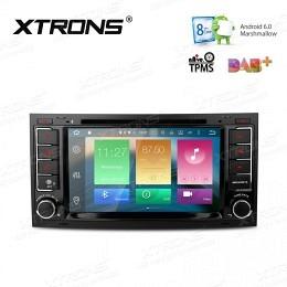 B-WARE, Android Autoradio, Android6, GPS/Navigation VW Touareg 2001-2011 (B-xxx)