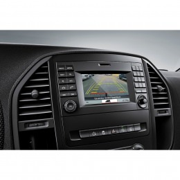 Rückfahrkamera eingang für Mercedes Vito (W447) ab 2014->  mit Audio 15