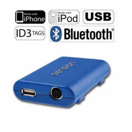 DENSION USB, Bluetooth, iPhone/iPod Upgrade für Audi (Quadlock-Adapter), GBL3AI2