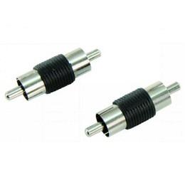 Cinch-Adapter, Stecker -> Stecker 2Stück-Pack
