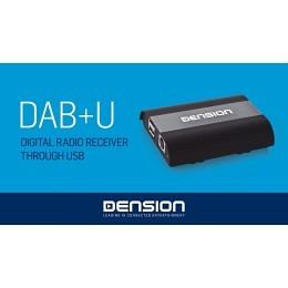 Dension DAB+ Nachrüstmodul, vollständige integration über Werks-USB, DBU3GEN