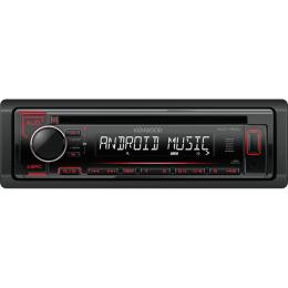 Kenwood KDC-120UR USB, CD, MP3, mit Android Steuerung, Tasten: rot