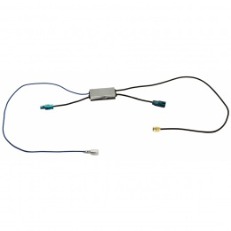Adaptiv TMC Antennenadapter (1x Fakra), Plug & Play mit allen Adaptiv Interfaces