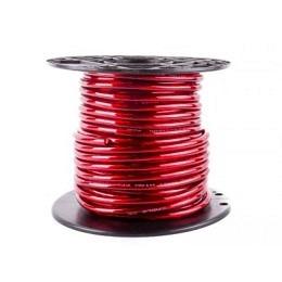 Stromkabel 10qmm, Kupfer, Meterware, rot