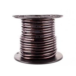 Stromkabel 10qmm, Kupfer, Meterware, schwarz