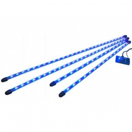 "Neon-Leuchtkit, 252 LED's 2x36""+2x48"", multicolor, flexibel ""ShowGlow"""