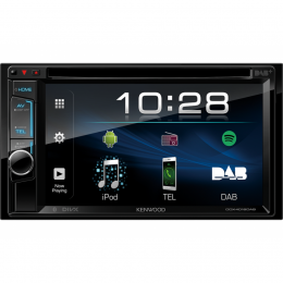 "Kenwood DDX4018DAB, 2-DIN, 6.2"", Bluetooth, USB, Android, DAB+, inkl Antenne"