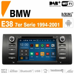 Autoradio Navigation für BMW E38 (1994 - 2001), Berling TS-1614S-1/A, ANDROID