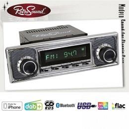 """Retro Radios""""SAN DIEGO"""" DAB+, Bluetooth FSE, A2DP, USB, iPod/iPhone"""