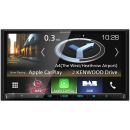 Kenwood DNX8180DABS 7 Zoll CD/DVD/Navi/HDMI/MHL/Apple CarPlay/Android Auto/DAB+