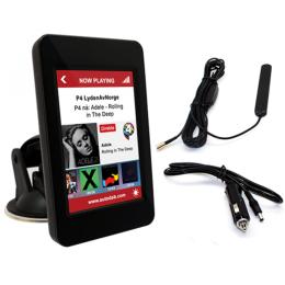 Universelle DAB+ Nachrüstung, Tonübertragung über FM oder AUX