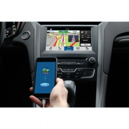 "Ford Sync 3 mit 8"" Touchscreen, Rückfahrkamera-Eingang, Smartphone Streaming"