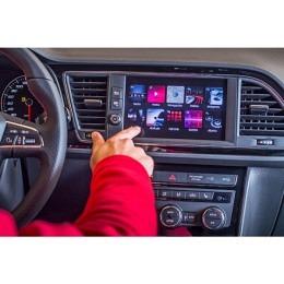 "Seat ab 2014->> Media System 8"", Rückfahrkamera-Eingang, Smartphone Streaming"