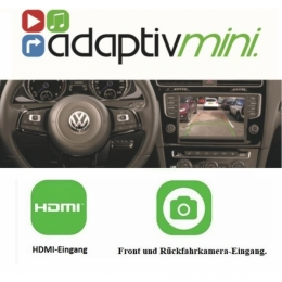 "VW  ab 2014->> mit MIB 5.8""/6.5""/ 8"" ,Rückfahrkamera-Ein, Smartphone Streaming"
