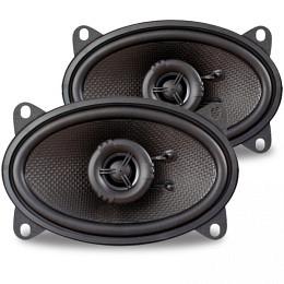 AMPIRE Koaxial-Lautsprecher,4''x 6'' (Paar)  ohne Grill