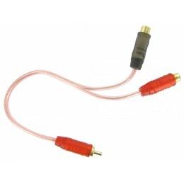 Cinch-AV-Audio-Y Splitter Adapter 1X männlich zu 2X weiblich Buchse