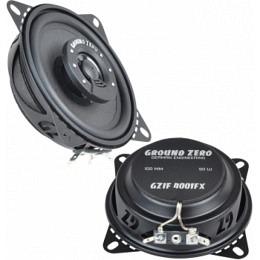 Ground Zero GZIF 4001FX 2-Wege Flacher Coax 10cm Lautsprecher 50W RMS