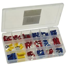 Sortiments-Box Kfz-Kabelschuhe, 175-teiliges-SET