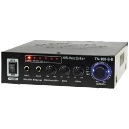 """HiFi-Stereo-Verstärker """"TA-100-S-B""""   100Watt"""