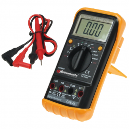 "Digital-Multimeter ""M-43-BIG"", Autom, 25 Ber.,Data Hold"