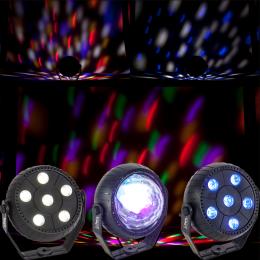 "LED Lichteffekt Set ""PARTY-TRIFX"" 3-tlg. alle 230V"