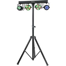 """Lichtstativ """"DJLIGHT60"""" SET  mit Lichteffekt-Geräten :"""