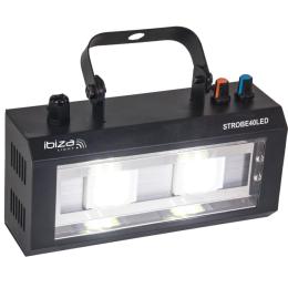 """LED Blitzleuchte """"STROBE-40LED"""" 2x20W, 230V"""