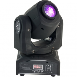 "Moving Head ""PARTY-SPOT7"" DMX 10-Kanal 230V 25W"