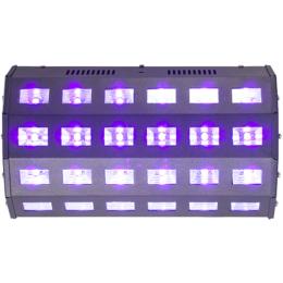 """Schwarzlicht LED Lichteffekt """"LED-UV24"""" 230V"""