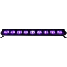 "Schwarzlicht-LED-Leiste ""LED-UVBAR"" 9x3W LEDs,230V"