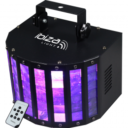 "Lichteffekt ""BUTTERFLY-RC"" 20W, 6x3W LED's 230V FB"