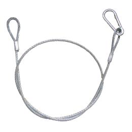 """Sicherheits-Stahl-Kabel  """"SAFETY6""""    6mmØ"""