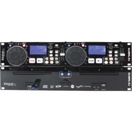 """Doppel-CD-Player """"GLOBAL-DJ"""" CD/SD/2xUSB/DSP"""