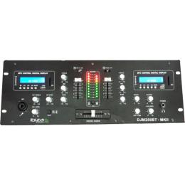 "Mischpult ""DJM250BT-MKII"" 5-Kanal, 2x USB, SD, 19"""