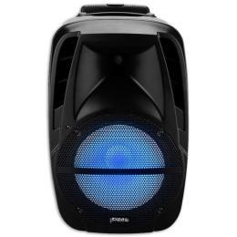 "Aktivbox ""BTM15A-LED"" 500W, BT, USB, SD-Karte, FB"