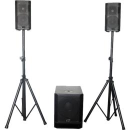 "Aktives Lautsprechersystem ""KE10-MKII"", 450+300W"