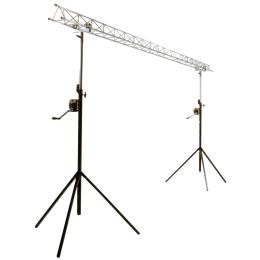 """Licht-Brücke """"SLB03W-Licht-SET"""" mit 2 Kurbeln"""