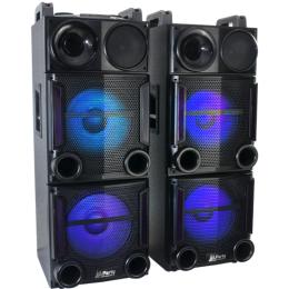 """Party-Boxen-Set """"PARTY-BOX 212"""", 2x12""""Bass 1.200W"""