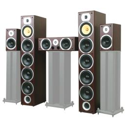 "Home-Theater-System ""V9B-MA"" 5.0 ,  Mahagoni"