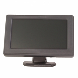 "LCD-Monitor, 4,3"", Standmodell, J-504"
