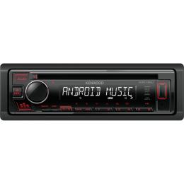 Kenwood KDC-130UR USB, CD, MP3, mit Android Steuerung, Tasten: rot