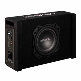 Kenwood Aktiver Subwoofer, 20cm Bassmembran, 400Watt, PA-W801B