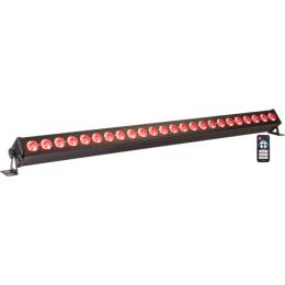 "RGBW-LED-BAR ""LED-BAR24"", 24x4W RGBW-LED's, 110cm lang, DMX"