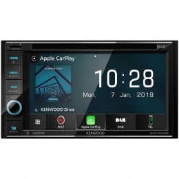 Kenwood DNX419DABS Navigation, CarPlay, Bluetooth, inkl. DAB-Antenne