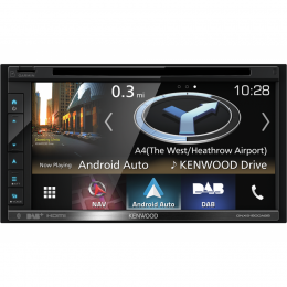 Kenwood DNX5190DABS Navigation, CarPlay, AndroidAuto, BT, inkl. Antenne