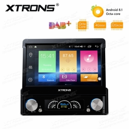 1-DIN 7 Zoll Android 8.1 DVD-Autoradio, mit DSP, DAB+ ready, D784A
